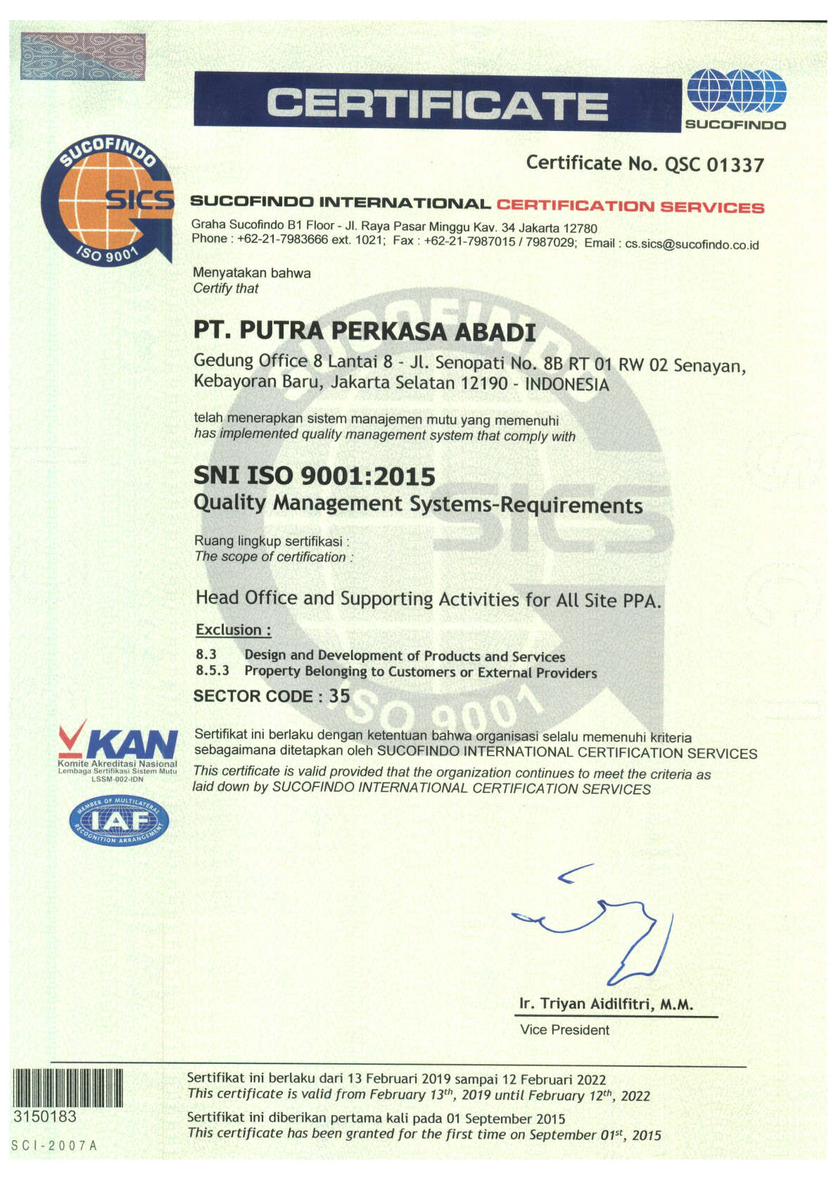 Sertifikat ISO 9001 PPA-Head Office_Page_1