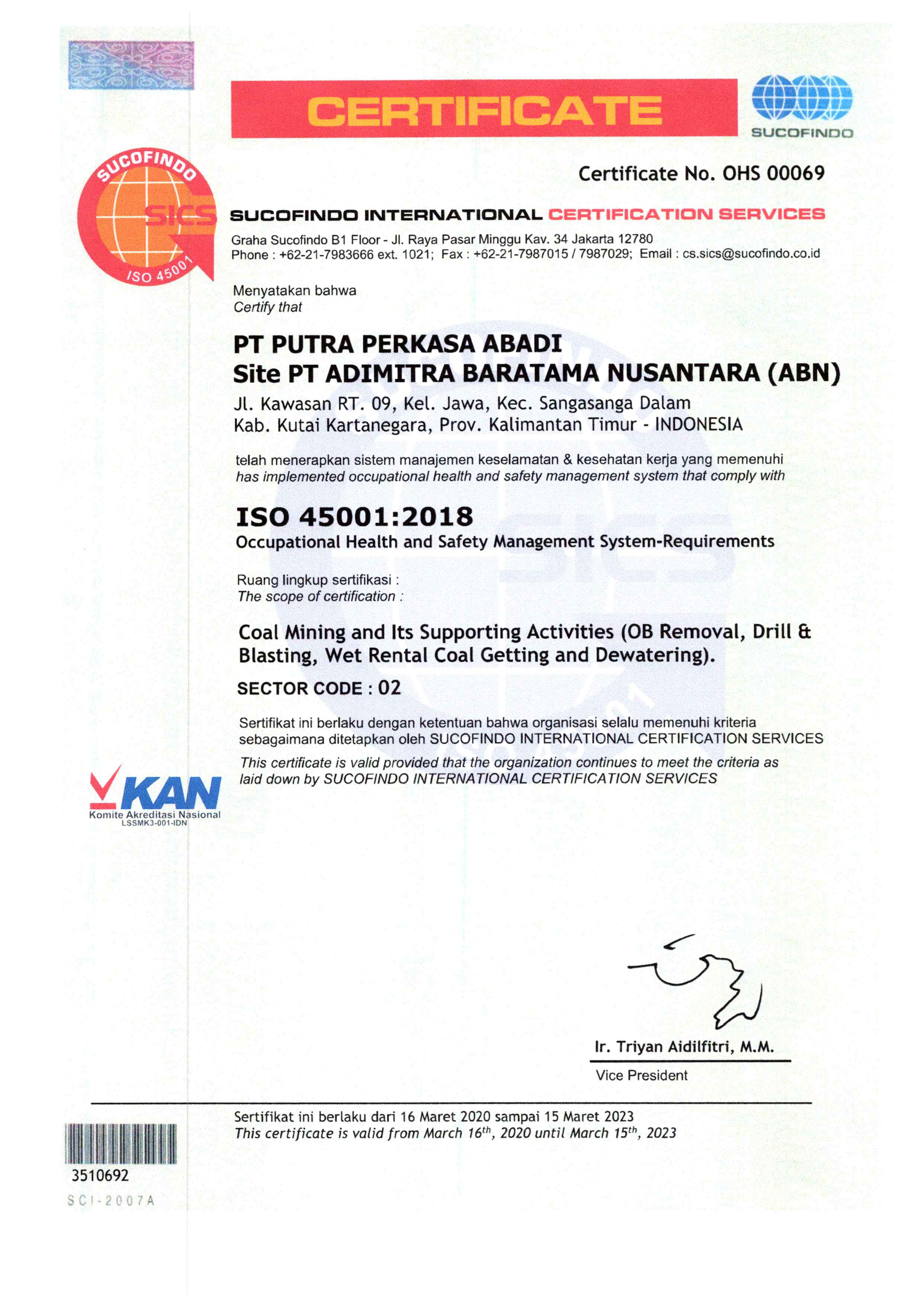 Sertifikat ISO 45001 PPA ABN_2020_Page_1